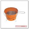 Bucket barbecue, narancs