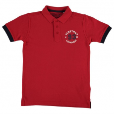 Firetrap gyerek galléros póló - Short Sleeved Polo Junior
