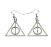 Harry Potter és a halál ereklyéi stílusú fülbevaló fülbevaló