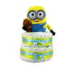 Pelenkatorta Webshop Babaváró ajándék ötlet: Minion Bob macival pelenkatorta