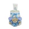 Pelenkatorta Webshop Babaváró ajándék ötlet: Pelenkatorta kisfiúnak BabyZoo babafürdetõ és sampon