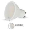 V-tac GU10 LED lámpa 5 Watt (110°) - Opál hideg fehér