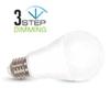 V-tac E27 LED lámpa 9 Watt (200°) - Körte természetes f. Smart D