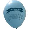 Színes mix Happy Birthday léggömbök L-es méretü 100db
