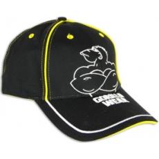 Gorilla Wear Muscle Monkey Cap baseball sapka (fekete-sárga) (1 db)