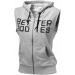Better Bodies Athletic S/L Hood (szürke) (1 db)