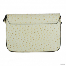 Cross L1402T - Miss Lulu London kicsi Cross Body táska Ostrich sárga
