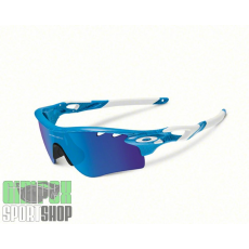 OAKLEY Radarlock Path Fingerprint Collection Sky Blue Sapphire&Black Iridium