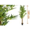 Műnövény - Bambusz 160 cm