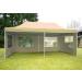 Összecsukható kerti parti sátor – 3 x 6 m bézs