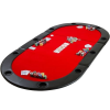 Kihajtható póker asztallap - piros