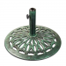 Öntöttvas napernyőtalp - zöld, 17 kg