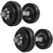 Egykezes súlyzó szett, öntvény - MOVIT 2 x 30 kg