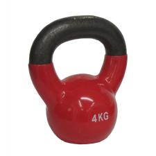 Kettlebell súlyzó 4 kg - vinyl bevonattal kettlebell