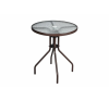 Kerti asztal üveglappal Bistro kerti bútor