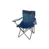 OEM Összecsukható szék pohártartóval - kék