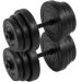 Egykezes súlyzó szett - MOVIT, 40 kg