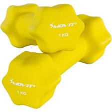 Neoprén bevonatú súlyzó 1 kg MOVIT, 2 db kézisúlyzó