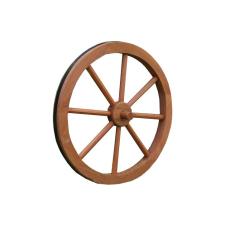 OEM Fa kerék Garth, stílusos, rusztikus dekoráció - 45 cm dekoráció