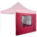 OEM Két oldalfal STILISTA kerti sátorhoz 3 x 3 m - bordó