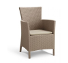 Polyrattan fotel MONTANA cappucino kerti bútor