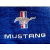 Hímzett Mustang törölköző