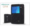 Samsung J710F Galaxy J7 (2016) oldalra nyíló flipes tok - Nillkin Qin - fekete tok és táska
