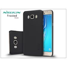 Samsung J710F Galaxy J7 (2016) hátlap képernyővédő fóliával - Nillkin Frosted Shield - fekete tok és táska
