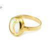 Opálos arany gyűrű