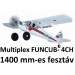 Távirányításos repülőgép -Multiplex FUNCUB EPP -ből 1400 mm szárny fesztáv, táv. nélkül