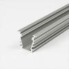LEDvonal Alumínium U profil LED szalaghoz , 2 méteres szálban , TEJFEHÉR fedővel , süllyeszthető ,...