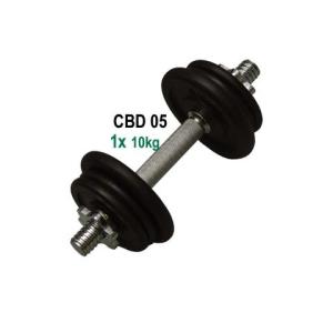 CorbySport Egykezes kézisúlyzó - 10 kg