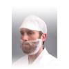 HPC termék Szakálvédő, Nemszőtt fehér, 100db/csomag