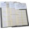 Etikett 35x50mm öntapadó fehér (60 címke/csomag)