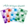 Nyomell vonalas füzet A/4 81-32 32 lap