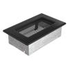 Kratki Fekete Szellőzőrács Standard 11x17