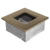 Kratki Arany - galvanizált Szellőzőrács Standard 11x11