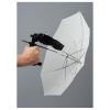Lastolite LU2126 ernyőfogó kit + fogantyú + áteresztő ernyő (50 cm)