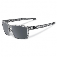 Oakley Sliver Fingerprint White Black Iridium