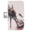 """Samsung Galaxy J5 RMPACK Tok Mintás """"Life"""" Style Szilikon Belsővel Bankkártyatartóval LS-007"""