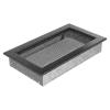 Kratki Ezüst Fekete Szellőzőrács Standard 17x30