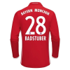 Adidas Bayern München Hazai H.ú. BADSTUBER Mez 2016-2017