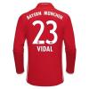 Adidas Bayern München Hazai H.ú. VIDAL Mez 2016-2017