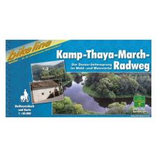 Kamp-Thaya-March-Radweg kerékpárkalauz / Kamp-Thaya-March-Radweg térkép