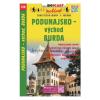 Podunajsko - východ, Burda / Dunamente kelet–Burda-hegység turista- és kerékpáros térkép/ Shocart