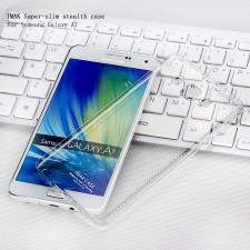 Samsung SM-A700F Galaxy A7 hátlap - IMAK Crystal Clear Slim - transparent tok és táska