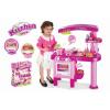 OEM G21 Nagy játékkonyha tartozékokkal, rózsaszín