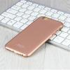 Apple iPhone 6/6S hátlap képernyővédő fóliával - IMAK Jazz II - rose gold