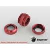 Bitspower Multi-Link Adapter Deep Blood Red Enhance 2x 12mm AD - vérvörös /BP-DBREDML/