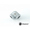 Bitspower Multi-Link Adapter Silver Shining Enhance 90° G1/412mm AD - ezüst /BP-E90DML/